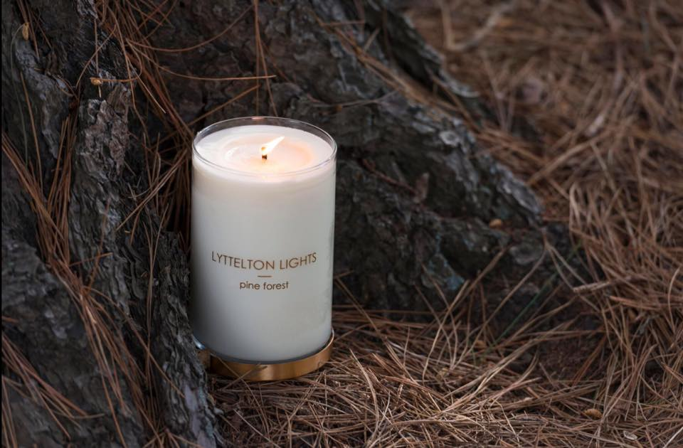 Lyttelton Lights candle