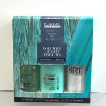 L'oreal Volumetry pack to volumise and bodify fine hair.