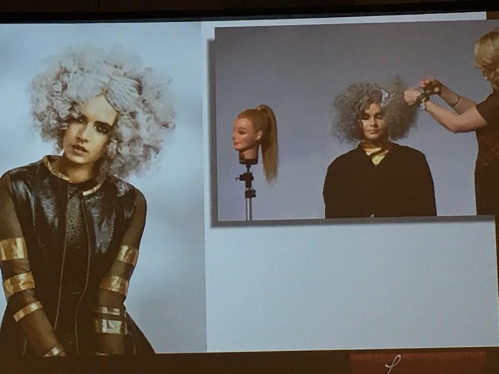 Lorna Evans at Australian Hair Expo