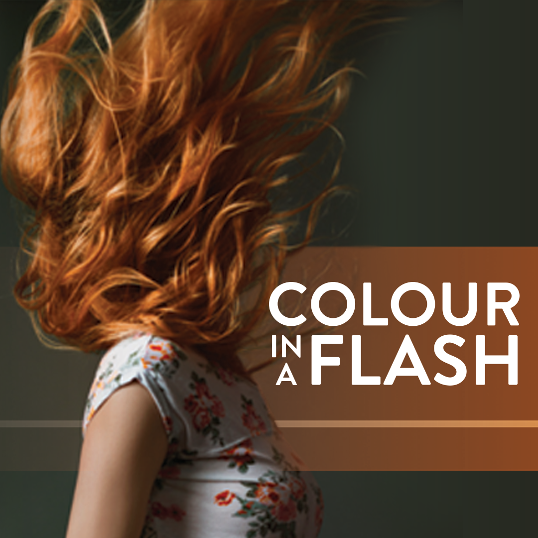 Colour in a flash.