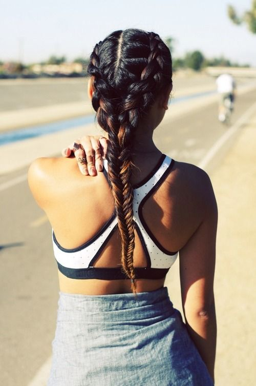 Gym Friendly Hairstyles True Grit
