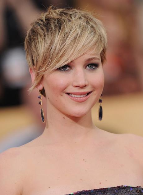 Jennifer Lawrence - Pixie cut
