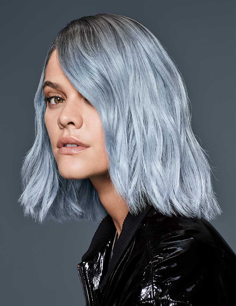 The 5 Rules of Metallic Hair Colour | True Grit